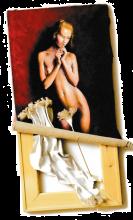 Attractive -2014 olio su tela e tele cm. 25x30